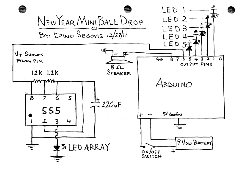 mini ball drop schematic