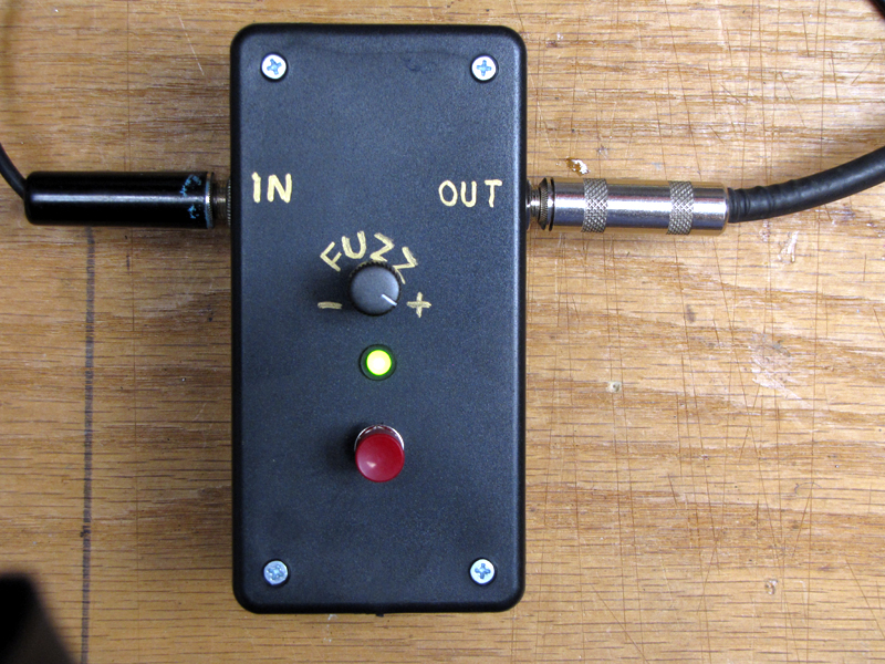 Guitar Fuzz Effect Box