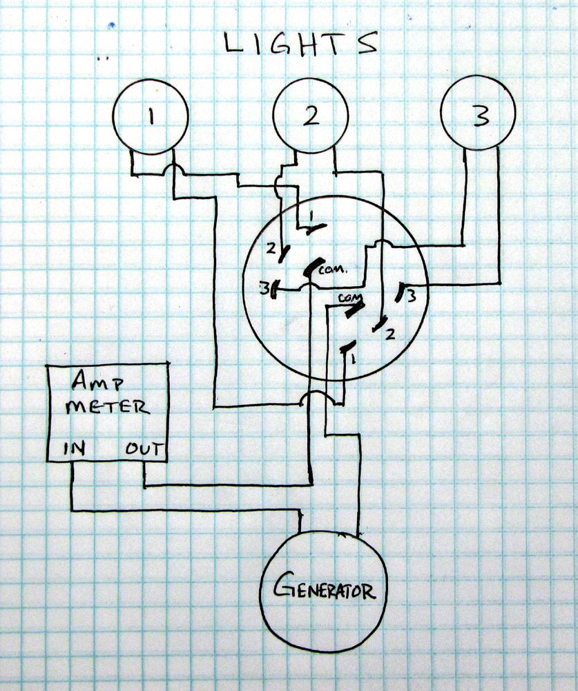 on 6 position rotary switch schematic in