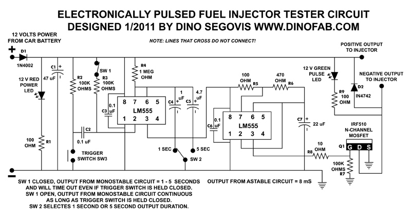Building An Electronic Fuel Injector Tester Hack A Week