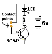touch switch schematic