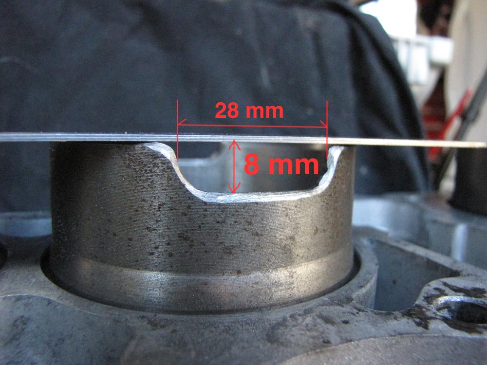 cb750 cylinder notch measurement